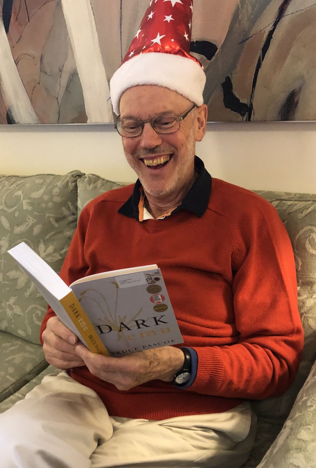The Christmas mood at the Book Club