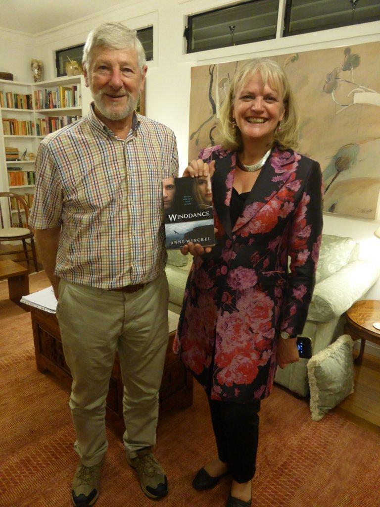 Garry & Author of Winddance